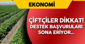 Çiftçilere Ödenecek Destek Miktarı Belli Oldu  (  Son Başvuru 2 Eylül 2016)