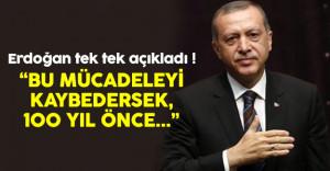 Cumhurbaşkanı Erdoğan 2023 hedefleriyle ilgili açıklama yaptı