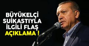 Cumhurbaşkanı Erdoğan'dan Rus büyükelçi suikastıyla ilgili flaş açıklama