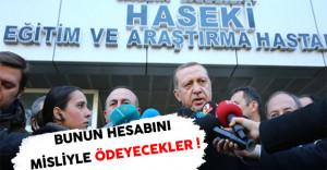 Cumhurbaşkanı Erdoğan'dan Terör Saldırısı Hakkında Açıklamalar ! ( Bunun Bedelini Çok Ağır Ödeyecekler )