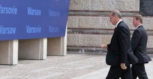 Cumhurbaşkanı Recep Tayyip Erdoğan NATO Devlet ve Hükümet Başkanları Zirvesi'nde