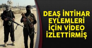 DEAŞ İntihar Eylemleri İçin Video İzletmiş