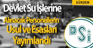 Devlet Su İşleri Genel Müdürlüğü'ne Atanacak Mühendis Sınavı ve Atama Yönetmeliği Resmi Gazete'de