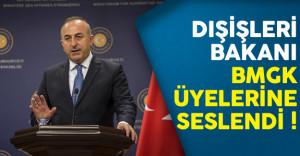 Dışişleri Bakanı Çavuşoğlu BMGK Üyelerine Seslendi