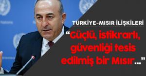 """Dışişleri Bakanı : """"Kardeş bir ülkenin bu durumda olması bizi de rahatsız ediyor"""""""