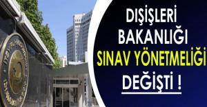 Dışişleri Bakanlığı Personel Alımlarında KPSS'nin Dışında 3 Sınav Daha Yapılacak !
