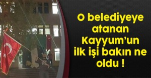 Diyadin Belediyesi'ne Atanan Kayyum Düğmeye Bastı !