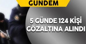 Diyarbakır'da PKK Operasyonu: 124 Gözaltı