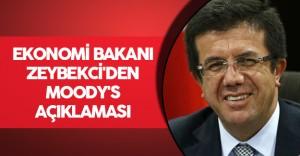 Ekonomi Bakanı Zeybekci'den 'Moody's' Açıklaması
