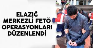 Elazığ Mekezli FETÖ Operasyonu Şüpheliler Gözaltında