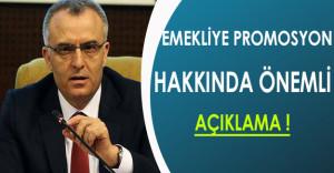 Emekliye Promosyon'da Bakan Ağbal'dan Önemli Açıklama