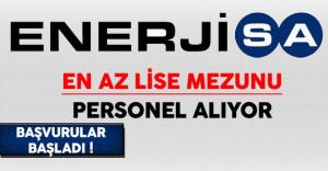 Enerjisa Türkiye Genelinde En Az Lise Mezunu Personel Alıyor