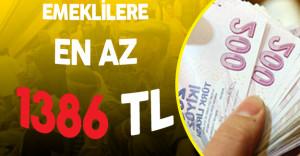 Enflasyon Rakamları Şekilleniyor!  Emeklilere En Az 1386 TL !