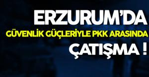 Erzurum'da Güvenlik Güçleri PKK İle Çatıştı ( 1 Uzman Çavuş Yaralı )