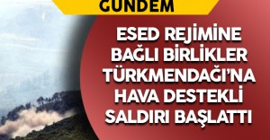 Esed Türkmendağı'nı Vuruyor