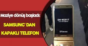 Eskiye Dönüş Başladı: Samsung' dan Kapaklı Telefon Kaçamağı!