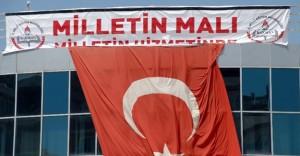 """FETÖ'nün Kapatılan Okuluna """"Bu bina artık milletin malıdır"""" Yazılı Afiş Asıldı"""