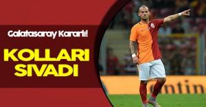 Galatasaray Sneijder İçin Kararını Vermiş Durumda!