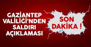 Gaziantep Valiliği'nden emniyet saldırısıyla ilgili açıklama