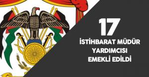 Genel İstihbarat Teşkilatında 17 Üst Düzey Yönetici Emekli Edildi