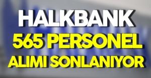 Halk Bank 565 Personel Alımına Başvurularda Sona Yaklaşılıyor