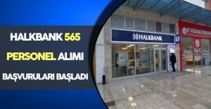 Halkbank 565 Personel Alımı İçin Başvurular Başladı