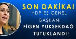 Son Dakika: HDP Eş Genel Başkanı Figen Yüksekdağ Tutuklandı!
