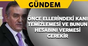 MHP'li Erkan Akçay HDP'li İdris Baluken'in Sözlerine Tepki Gösterdi