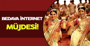 Hindistan' da Bedava İnternet' e Kavuştu