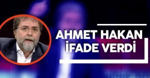 Hürriyet Gazetesi Yazarı Ahmet Hakan'ın İfadesi Alındı