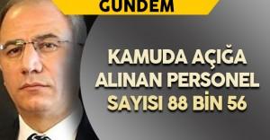 İçişleri Bakanı Açıkladı: Kamuda Açığa Alınan Personel Sayısı 88 Bin 56