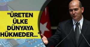 """İçişleri Bakanı :""""Bunu Üreten Dünyaya Hükmeder"""""""
