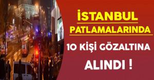 İçişleri Bakanı Soylu İstanbul Patlamalarında 10 Kişinin Gözaltına Alındığını Açıkladı !