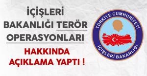 İçişleri Bakanlığından Terör Operasyonları Hakkında Açıklama ( 924 Kişi Gözaltına Alındı )