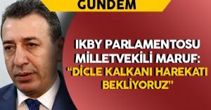"""Aydın Maruf: """"Türkiye'den Dicle Kalkanı Harekatı Bekliyoruz"""""""