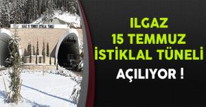 Ilgaz 15 Temmuz İstiklal Tüneli Açılıyor !