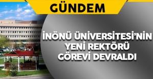İnönü Üniversitesi'nde Yeni Rektör Prof. Dr. Ahmet Kızılay