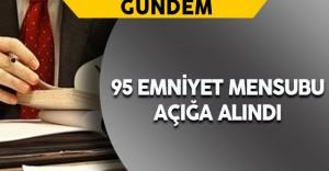 İstanbul Emniyet Müdürlüğünde 95 Personel Açığa Alındı