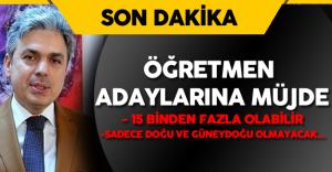 İstanbul İl Milli Eğitim Müdürü Yelkenci'den Öğretmen Adaylarına Müjdeli Haber