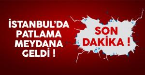 İstanbul Maltepe'de son dakika patlama meydana geldi