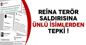 İstanbul Reina Terör Saldırısına Ünlü İsimlerden Tepki Yağdı