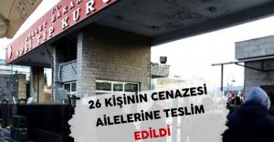 İstanbul Terör Saldırısında Hayatını Kaybedenlerin 26'sının Cenazesi Ailelerine Teslim Edildi