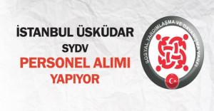 İstanbul Üsküdar SYDV Personel Alımı Yapıyor
