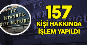 İzinsiz Gösteri Yapan 157 HDP'li Hakkında Yasal İşlem Yapıldı