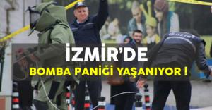 Son Dakika: İzmir'de Bomba Paniğinden Dolayı 20 Bina Boşaltıldı !