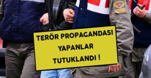 İzmir'de Teröre Destek Verenler Yakalandı