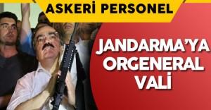 Jandarma Genel Komutanlığı'na Orgeneral Rütbesiyle Vali Atanabilecek