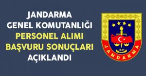 Jandarma Genel Komutanlığı 2016/3 Uzman Erbaş Alımı Başvuru Sonuçları Açıklandı