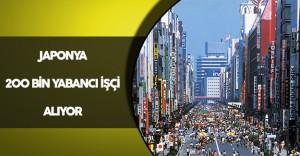 Japonya 200 Bin Yabancı İşçi Alıyor