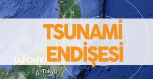 Japonya'da Deprem Sonrası Tsunami Endişesi